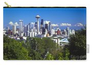 Seattle And Mt. Rainier Carry-all Pouch