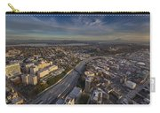 Seattle And Rainier Golden Light Carry-all Pouch