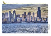 Seattle At Twilight From Alki Beach Carry-all Pouch
