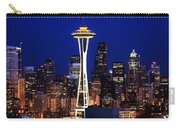Seattle By Night Carry-all Pouch
