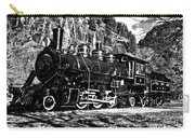 Seattle City Light Train In Bw Carry-all Pouch