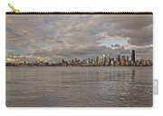 Seattle Cityscape In Clouds  Carry-all Pouch