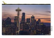 Seattle Cityscape Morning Light Carry-all Pouch