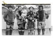 Seattle Eskimo Family Carry-all Pouch