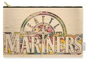 Seattle Mariners Poster Art Carry-all Pouch