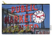 Seattle Market  Carry-all Pouch by Brian Jannsen
