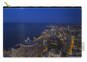 Seattle Moonset Glow Carry-all Pouch