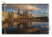 Seattle Pier Sunset Clouds Carry-all Pouch