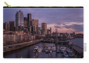 Seattle Skyline Bell Harbor Dusk Carry-all Pouch