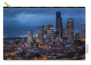 Seattle Skyline Evening Drama Carry-all Pouch