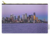 Seattle Skyline Panorama - Massive Carry-all Pouch
