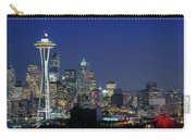 Seattle Skyline With Space Needle Carry-all Pouch
