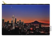 Seattle Sunrise Panorama Carry-all Pouch