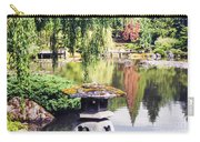 Seattle Tea Garden Reflections Carry-all Pouch