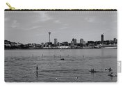 Seattle Waterfront Bw 2 Carry-all Pouch