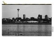 Seattle Waterfront Bw Carry-all Pouch