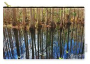 Sebring Cypress Swamp Reflection Carry-all Pouch