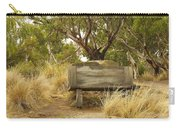 Secluded Bench Carry-all Pouch