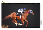Secretariat And Turcotte Carry-all Pouch