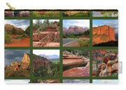 Sedona Spring Collage Carry-all Pouch