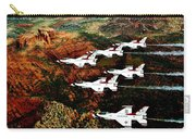 Sedona Thunderbirds Carry-all Pouch by Benjamin Yeager