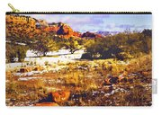 Sedona Winter Painting Carry-all Pouch