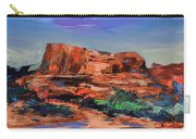 Sedona's Heart Carry-all Pouch by Elise Palmigiani