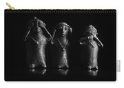 See No Evil Hear No Evi Speak No Evil 2 Carry-all Pouch