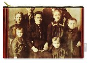 Seei Family Portrait Circa 1906 Carry-all Pouch