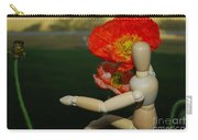 Seeking A Yellow Brick Road Poppy Number Three Horizontal Carry-all Pouch