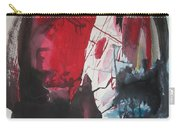 Seem To Happen Suddenly  Original Abstract Colorful Landscape Painting For Sale Red Blue Green Carry-all Pouch