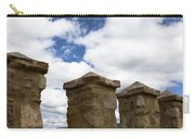 Segovia Wall Against Blue Sky Carry-all Pouch