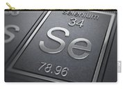 Selenium Chemical Element Carry-all Pouch