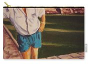 Self Portrait At Chichen Itza Carry-all Pouch