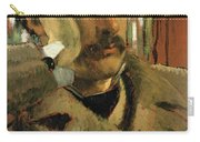 Self Portrait, C.1865 Panel Carry-all Pouch