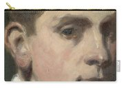 Self Portrait Carry-all Pouch by Francis Campbell Boileau Cadell