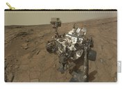 Self-portrait Of Curiosity Rover Carry-all Pouch