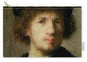 Self Portrait Carry-all Pouch by Rembrandt Harmenszoon van Rijn