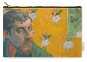 Self-portrait With Portrait Of Bernard. Les Miserables. Carry-all Pouch
