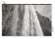 Seljalandsfoss Waterfall In Iceland Carry-all Pouch