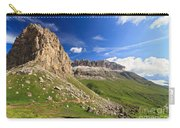 Sella Mountain And Pordoi Pass Carry-all Pouch