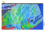 semi abstract Mahi mahi Carry-all Pouch