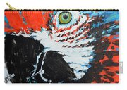 Semiabstract Parrot Carry-all Pouch