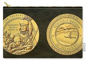 Seminole Nation Code Talkers Bronze Medal Art Carry-all Pouch