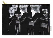 Senator Eugene Mccarthy  Collage Democratic Nat'l Convention Miami Beach Florida 1972-2012  Carry-all Pouch