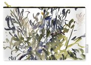 Senecio And Other Plants Carry-all Pouch