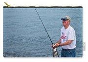 Senior Caught A Pollock In Kachemak Bay Off Homer Spit-alaska Carry-all Pouch