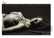 Sensual African Woman Carry-all Pouch