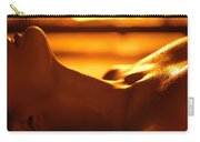 Sensual Photo Of Naked Woman In Front Of Fireplace Carry-all Pouch
