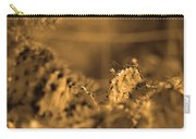 Sepia Cacti Close Up Carry-all Pouch